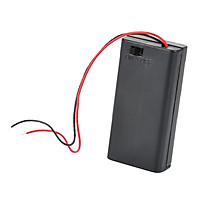 PP3 Enclosed Battery Holder Box ON/OFF Switch with Wires