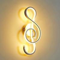 Đèn gắn tường nốt nhạc khóa Sol hiện đại (có 3 màu ánh sáng)