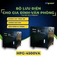 Bộ Nguồn Điện Dự Phòng HPGREEN HPG4500VA Nhập Khẩu Chính Hãng Thay Thế Cho Máy Phát Điện - Bộ Lưu Điện UPS