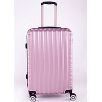Vali kéo du lịch 840 nhựa ABS chịu lực tốt - Hồng