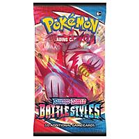 01 Pack Bài Pokemon TCG Battle Styles hot nhất (tép gói thẻ bài pokemon booster pack) - Series Sword Shield