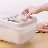 Thùng đựng gạo bằng nhựa PP - 39x21.5x19cm 637g
