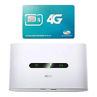 Tp-link M7300 | Bộ Phát Wifi 3G/4G Tốc Độ Cao + Sim Viettel Trọn Gói 12 Tháng 5GB/tháng tốc độ cao - Hàng chính hãng