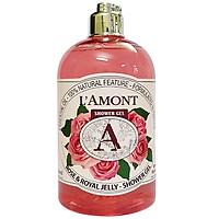 Sữa Tắm L'amont En Provence Rose & Honey Shower Gel Hương Hoa Hồng Chai 500ml