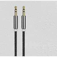 Dây Cáp Audio AUX 3.5mm  2 Đầu Đực Mạ Vàng Dài 1M
