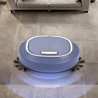 3 in 1 Robot Vacuum Cleaner, Strong Suction,Slim, Quiet, Great for Pet Hair Hard Floor and Low Pile Carpet