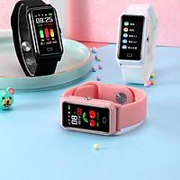 Đồng hồ Định vị Học sinh THCS, THPT và Người lớn Có gắn Sim kết hợp tính năng Theo dõi vận động Luyện tập Thể thao AMA Watch DS66 Hàng nhập khẩu