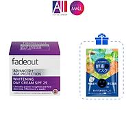 Kem dưỡng trắng da chống lão hóa ngày/đêm Fadeout Advanced+ Age protection whitening cream 50ml TẶNG mặt nạ Sexylook (Nhập khẩu)