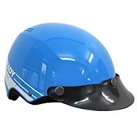 Mũ Bảo Hiểm 1/2 Đầu Protec VIC Xanh Ready, Nón Bảo Hiểm Thời Trang Protec VIC, Thương Hiệu Mỹ, An Toàn, Size L