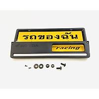 bộ khung bảng tên chữ thái sọc trắng dành cho xe vario
