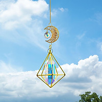 Crystal Suncatcher Sun Catcher Garden Window Hanging Decor Ornaments Gifts