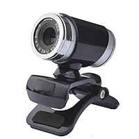 480P USB 2.0 High-definition Web Camera with Microphone Clip-on Base 60FPS Drive-free for  Laptop Computer Video Call