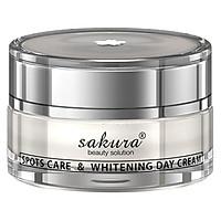 Kem Trị Nám Cao Cấp Ban Ngày Sakura Spots Care And Whitening Day Cream (30g)