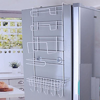 Kệ treo tủ lạnh đa năng, tiết kiệm diện tích - Tặng 1 lọ tinh dầu Quế