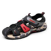 Giày sandal nam bít mũi quai dù hiệu Rova RV27R