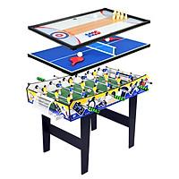 Bàn bi lắc Multi Game table 4in1 + Bóng bàn +Bowling + Mini Shuffleboard (bắn bi)