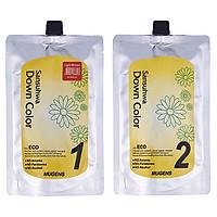 Thuốc nhuộm tóc phủ bạc Mugens Sansuhwa Color Hàn Quốc Số 4 Nâu Sáng: Light Brown 2x450ml