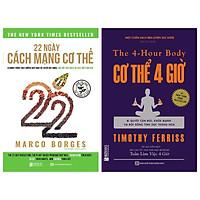 Combo 2 cuốn:22 Ngày Cách Mạng Cơ Thể và Cơ thể 4 giờ – Bí quyết cân đối khỏe mạnh và đời sống tình dục thăng hoa(tặng bookmark kim loại mạ vàng)
