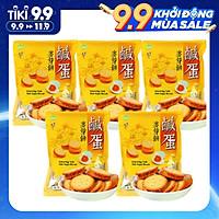 Combo 5 Túi Bánh quy trứng muối Đài Loan 500g