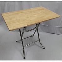 Bàn ăn gấp, bàn học gấp , bàn gấp gọn, bàn gấp các kích thước chân cao 73cm