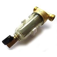 Bộ lọc nước thô đầu nguồn BYQ-5501 Chất liệu Hợp kim đồng cốc lọc nhựa Gen-21