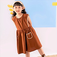 Váy đầm cho bé gái cao cấp Econice V008. Size 5, 6, 7, 8, 10 tuổi mặc mùa hè