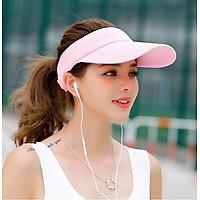 Mũ nón thể thao hở đầu màu trơn A048