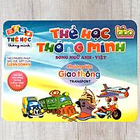 Thẻ Học Thông Minh Song Ngữ Anh Việt Theo Phương Pháp Glenn Doman Cho Bé - Chủ Đề Phương Tiện Giao Thông