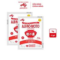 Combo 2 gói Bột ngọt AJI-NO-MOTO 1kg