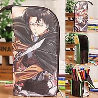 Hộp bút hình Attack on Titan Anime Pencil Bag