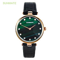 Đồng hồ Nữ SUNMATE S20016LA Máy Pin (Quartz) Dây Da