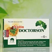 Thực phẩm chức năng phòng ngừa đột quỵ và tai biến Natto Doctorson (hộp 30 viên)