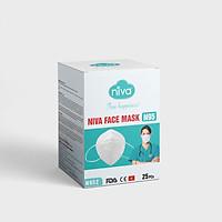 Hộp 25 chiếc Khẩu trang Niva N95