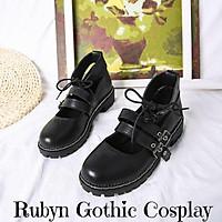 Giày búp bê lolita Mary Janes 2 quai ( BÓNG và NHÁM ) Size từ 35 - 40.