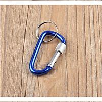 Móc treo chìa khóa đa năng treo đồ, móc khóa an toàn chữ D tiện dụng
