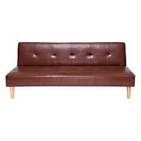 Sofabed Kalloni BNS (170 x 86 x 68 cm) - Nâu Bóng