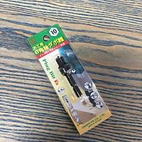 Mũi khoan gỗ tạo lỗ chốt 10mm chuôi lục giác 6.35mm Onishi