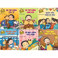 Sách - Combo Chuyện của Tee và Giri (6 cuốn) - NXB Kim Đồng