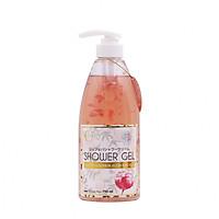 Sữa tắm trắng, thơm, mịn da Nhật Bản Jojoba Bông Hoa New Moon Shower Gel (750ml) – Hàng Chính Hãng