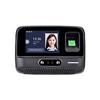 Facial and Password and Fingerprint Attendance Time Machine Wide application 4.0 Inch Touch Screen Easier Operating Plug