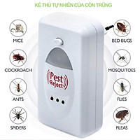 Máy đuổi muỗi ruồi chuột gián bằng sóng siêu âm