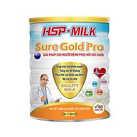 Sữa bột dinh dưỡng HSP Suregold Pro phục hồi sức khỏe, tăng sức đề kháng (hộp 900g) - hàng chính hãng