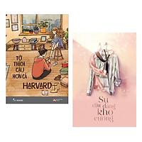 Combo Văn Học Hay: Tớ Thích Cậu Hơn Cả Harvard + Sự Dịu Dàng Khó Cưỡng (Top Sách Lãng Mạn - Tặng Kèm Bookmark Green Life)