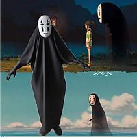 Bộ hoá trang nhân vật Vô Diện gồm mặt nạ và găng tay chơi Halloween cho trẻ em và người lớn