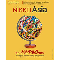 Nikkei Asian Review: Nikkei Asia - 2021: THE AGE OF RE - GLOBALIZATION - 3.20, tạp chí kinh tế nước ngoài, nhập khẩu từ Singapore