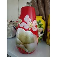 Lọ hoa khảm trứng gốm sứ Bát Tràng
