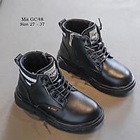 Giày boot cổ ngắn cho bé trai bé gái 3 - 12 tuổi kiểu dáng thể thao phong cách Hàn GC48