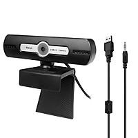 Webcam Máy Tính 720p USB Lấy Nét Với Micrô Giảm Tiếng Ồn Cho Hội Nghị