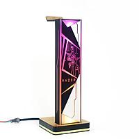 Giá treo tai nghe Razer Pro LED RGB Custom Handmade