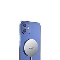 Sạc Pisen MagSafe Wireless 15W (Metal ) - Hàng chính hãng